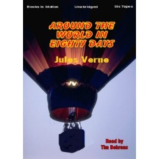 AROUND THE WORLD IN EIGHTY DAYS, download, by Jules Verne, Read by Tim Behrens