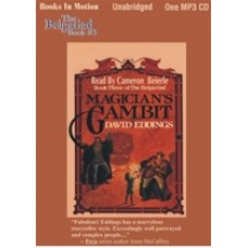 MAGICIAN'S GAMBIT, download, by David Eddings, (The Belgariad Series, Book 3), Read by Cameron Beierle