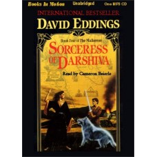SORCERESS OF DARSHIVA, download, by David Eddings, (The Malloreon Series, Book 4), Read by Cameron Beierle