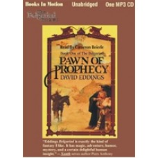 PAWN OF PROPHECY, download, by David Eddings, (The Belgariad Series, Book 1), Read by Cameron Beierle