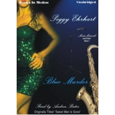 BLUE MURDER, download, by Peggy Ehrhart, (Maxx Maxwell Mystery Series, Book 1), Read by Andrea Bates