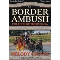 BORDER AMBUSH, download, by Melody Groves, (The Colton Brothers Series, Book 1), Read by David Courvoisier
