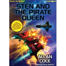 STEN AND THE PIRATE QUEEN, download, by Allan Cole, Read by Jerry Sciarrio
