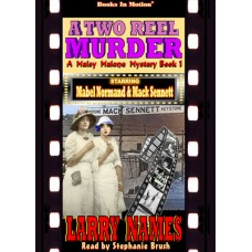A TWO REEL MURDER, download, by Larry Names (A Maisy Malone Mystery, Book 1), Read by Stephanie Brush